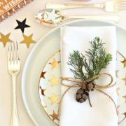 corso creativo tavola di Natale Ciavattini garden Ancona