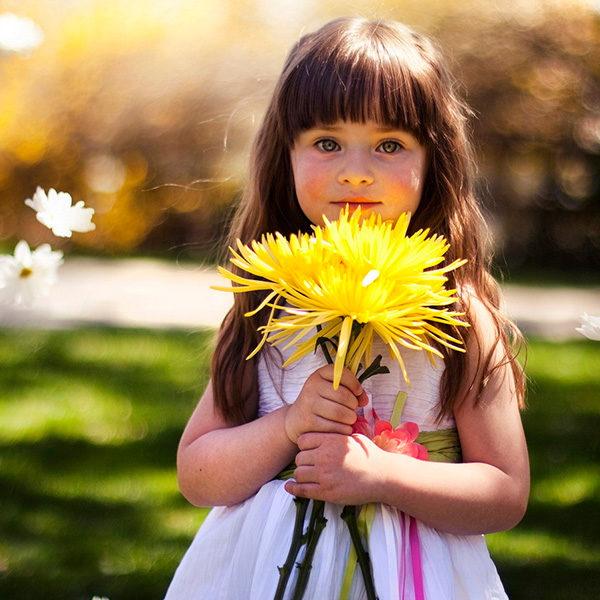 giardinaggio bambini fiori