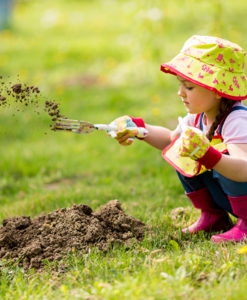 giardinaggio bambini
