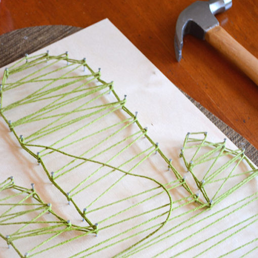 decorare con la string art Ciavattini Garden Corsi