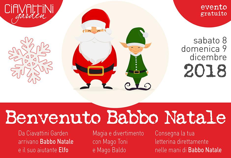 Benvenuti Nel Sito Di Babbo Natale.Benvenuto Babbo Natale Evento Gratuito