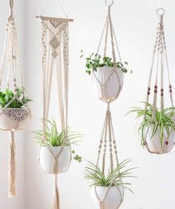 portavasi in macramè corso creatico Ciavattini garden